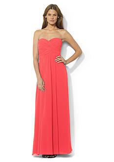 Lauren Ralph Lauren Floor-Length Strapless Gown