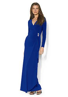 Lauren Ralph Lauren Pascha Jersey Evening Dress
