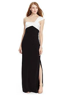 Lauren Ralph Lauren Sweetheart Jersey Gown
