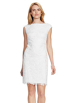 Lauren Ralph Lauren Lace Cutout Dress