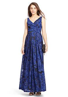 Lauren Ralph Lauren Floral Gown