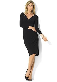 Lauren Ralph Lauren Long-Sleeved Jersey Dress<br>