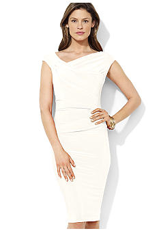 Lauren Ralph Lauren Jersey Sheath Dress