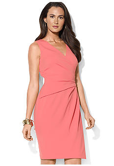 Lauren Ralph Lauren Sleeveless Wrap Dress