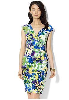 Lauren Ralph Lauren Printed Matte Jersey Dress
