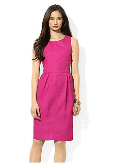 Lauren Ralph Lauren Sleeveless Scoop Neck Dress
