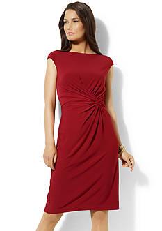 Lauren Ralph Lauren Jersey Knot Dress<br>