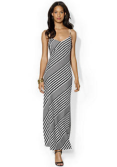 Lauren Ralph Lauren Jersey Striped Max Dress