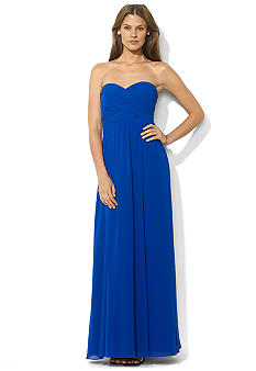 Lauren Ralph Lauren Floor-Length Strapless Gown