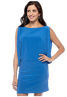 Batwing Sleeveless Dress