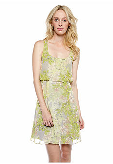 Jessica Simpson Sleeveless Racer Back Tank Dress
