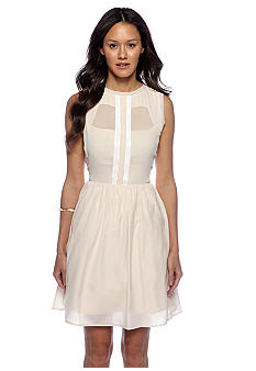 Jessica Simpson Sleeveless sheer Dress