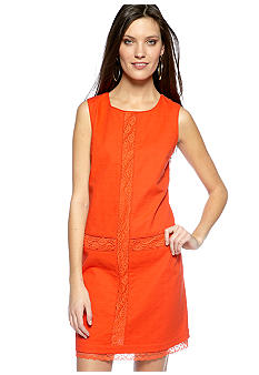 Jessica Simpson Sleeveless Shift Dress