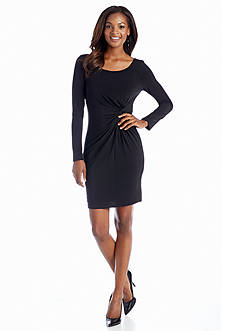 Jessica Simpson Long-Sleeve Empire-waist Dress