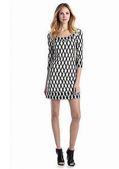 Jessica Simpson Printed Sheath Dress