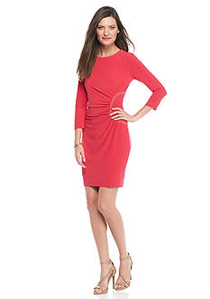 Jessica Simpson Jersey Sheath Dress