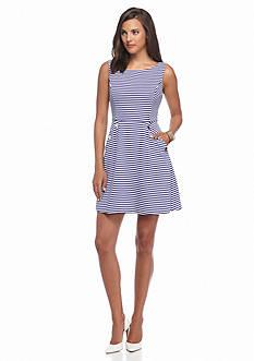 Jessica Simpson Stripe A-line Dress