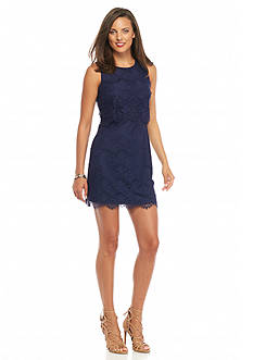 Jessica Simpson Lace Popover Dress