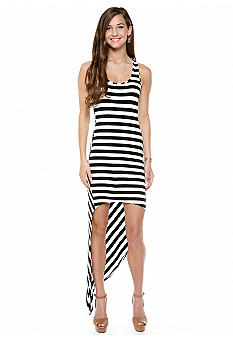 Belle Du Jour Striped Tank Dress