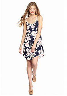 BeBop Floral Printed Slip Dress