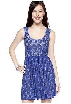 BeBop Lace Tank Dress