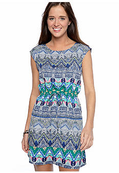 BeBop Tribal Print Dress