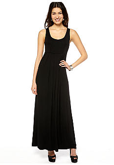 New Directions Sleeveless Tank Maxi