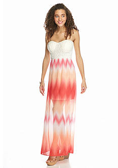 Trixxi Tie Dye Maxi Dress