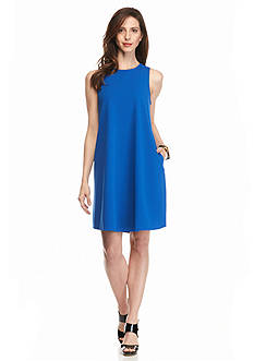 Sharagano Sleeveless Trapeze Dress