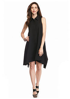 Sharagano Trapeze Shirt Dress