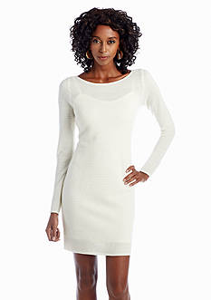 Julia Jordan® Long-Sleeve Sweaterdress