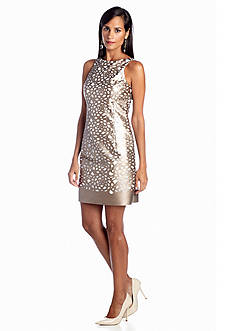 Julia Jordan® Printed Lace Sheath Dress