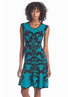 Julia Jordan® Fit-and-Flare Sweater Dress