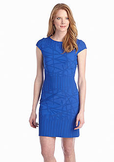 Julia Jordan® Cap-Sleeve Rio Knit Dress