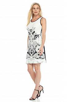 Julia Jordan Printed Sheath Dress
