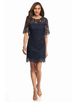 julia jordan Lace Shift Dress