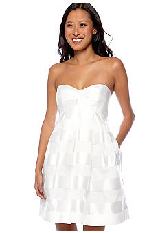 Jill Jill Stuart Strapless Baby Doll Dress