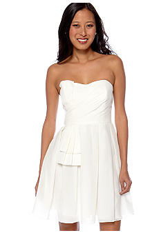 Jill Jill Stuart Strapless Fit and Flare Dress
