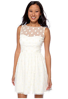 Jill Jill Stuart Sleeveless Fit and Flare Dress