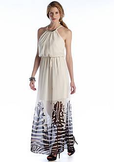 Luxology™ Halter Maxi Dress