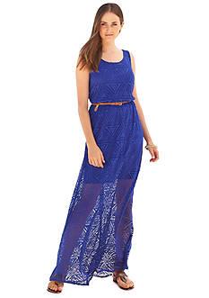 Luxology™ Crochet Maxi Dress