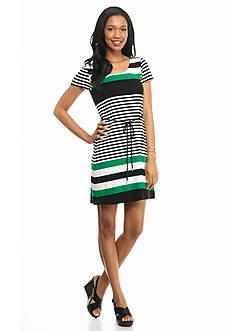 Luxology™ Striped Tee Dress