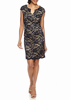 Luxology™ Lace Sheath Dress