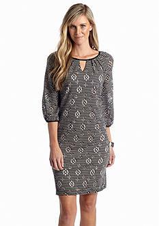 Madison Leigh Stripe Shift Dress