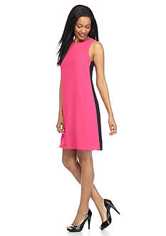 Madison Leigh Colorblock Trapeze Dress