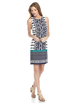 Madison Leigh Printed Shift Dress