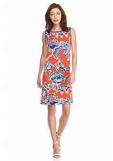 Madison Leigh Floral Printed Shift Dress