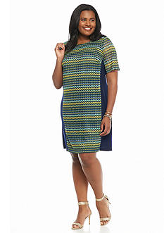 Madison Leigh Plus Size Shift Dress