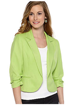 New Directions Three-Quarter Sleeved Jacket