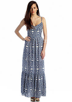 Betsey Johnson Printed Maxi Dress